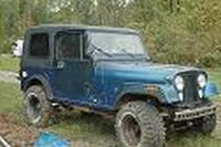 JEEP CJ7 AMC 401 WRANGLER, CJ